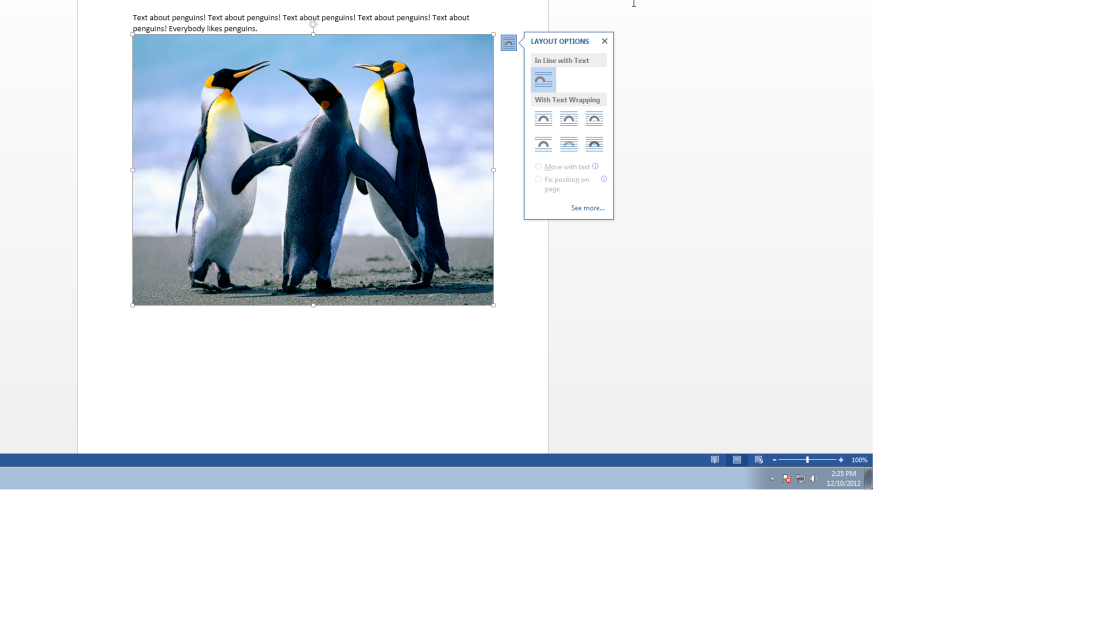 Alignment Guides in Word help you format images more easily